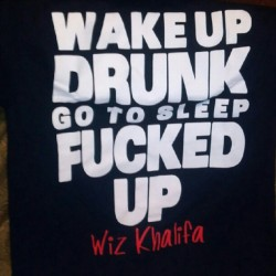 bringthedrugsillbringmypain:  My shirt from Mac and Wiz concert yeah buddy