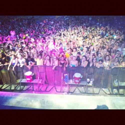 Crowd for @ericprydz at #idfestival in #tampa #ericprydz (Taken with Instagram)