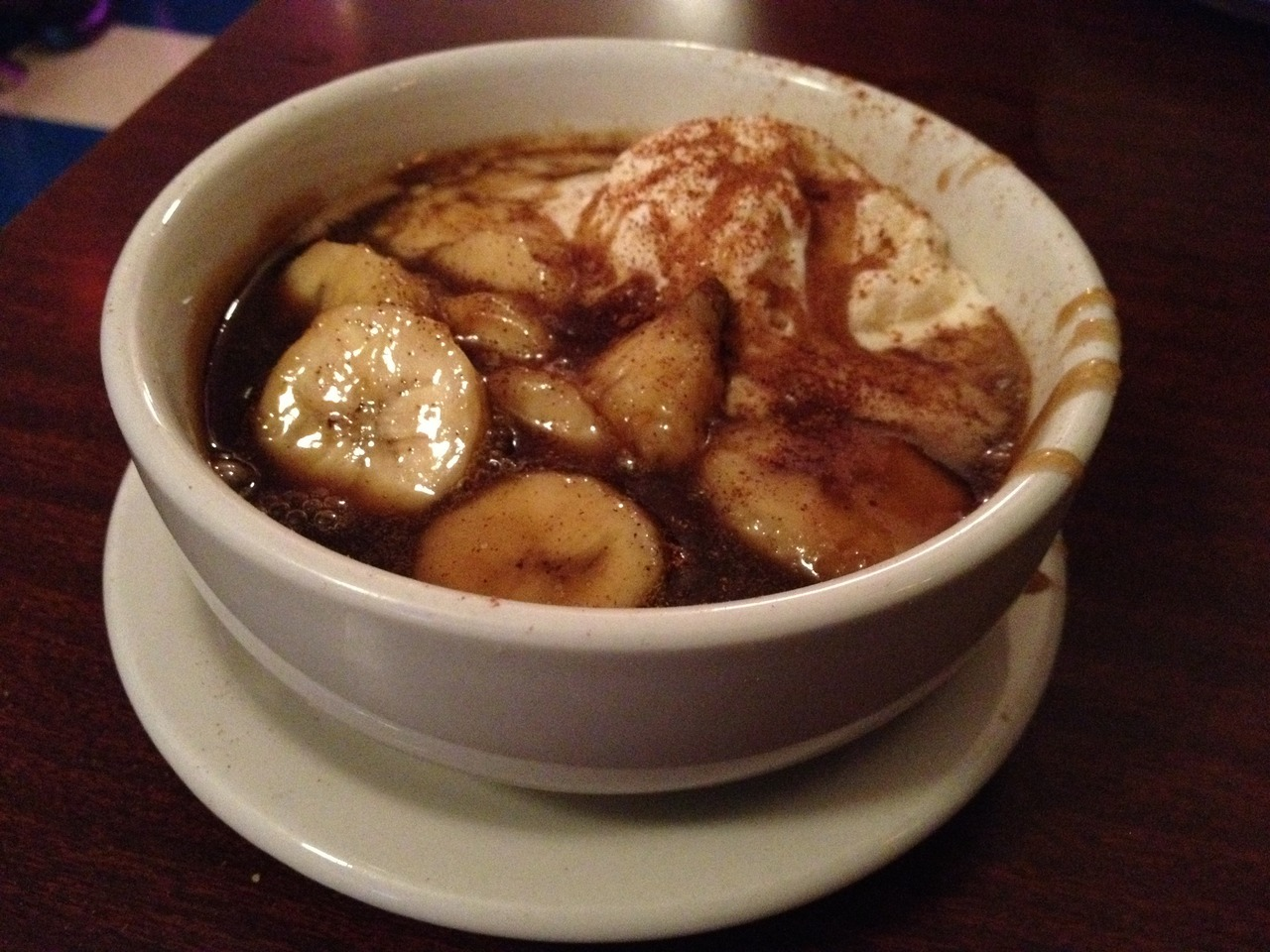 Dadeo (Edmonton) Bananas Foster Apparently they use to have a location in Vancouver, but closed down? WHYYYYYYYYYYYYYYYYYYYYYYYYYYY??!!!!I love Cajun cuisine a LOT more than the next person and I knew if there was one place I should eat at in Edmonton it would have to be Dadeo's (great choice Josh)!I, of course, ate way too much AND THEN ordered the Bananas Foster (serves 2-4). What I was expecting was a culinary spectacle, followed by the most satisfying sweet indulgence, which would lead to a major sugar high (strong enough to cause me to break a sweat - by just sitting and eating).That's exactly what I got!I've never been happier with my gluttony! I completely love and adore you Dadeo!!   Dadeo New Orleans Diner and Bar on Urbanspoon