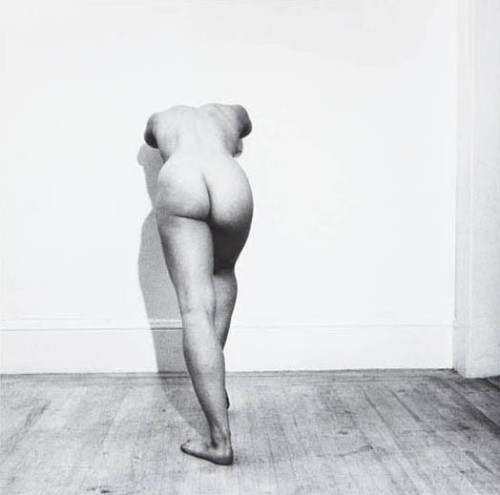 Robert Mapplethorpe - Lisa Lyon, 1980.
