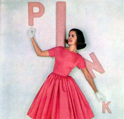 1961, pink was the new pink.