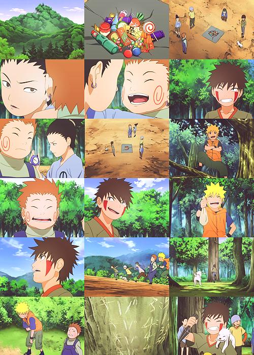 """""""Kiba: A dream?""""Naruto Shippuden ch 240"""