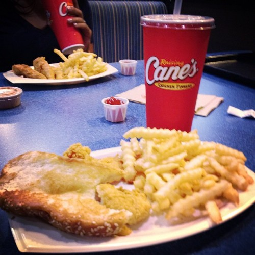 It's a Cane's kinda night. :) (Taken with Instagram)