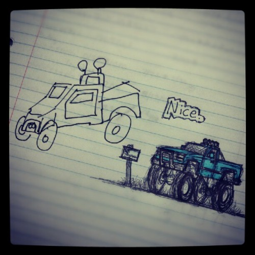 #homedepot #art contest #trucks #lol #nice (Taken with Instagram)