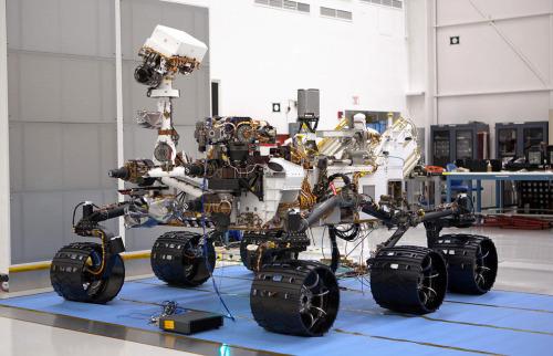 【焦点大图】好奇号数日内登陆火星
