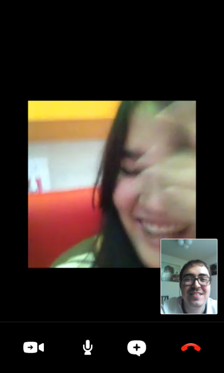 Skype calls to Thailand. =). Always makes my day.