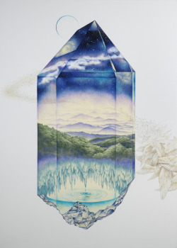 In the mood for: Crystal Mine  illustration by Kozue Oshima