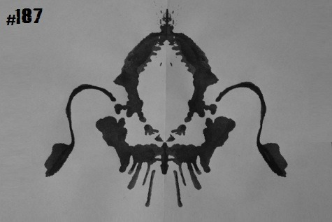 inkblotoftheday:  Inkblot #187 Instructions: Tel me what you see. -Enjoy  I see a fancy-schmancy chair, maybe a throne, or perhaps a chandelier.