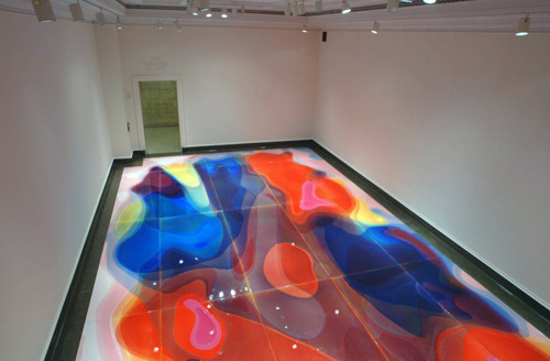 likeafieldmouse:  Peter Zimmermannp - Blob Paintings (2011)