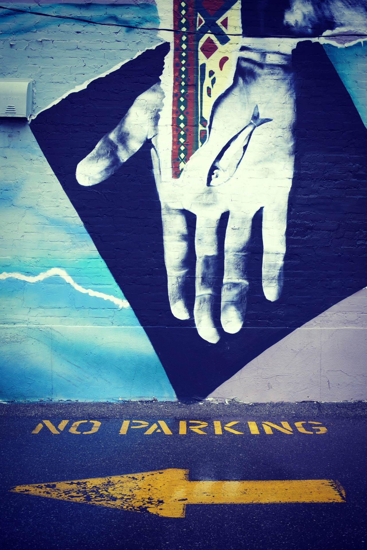 no parking right here! • © 2012 TahaPHOTO