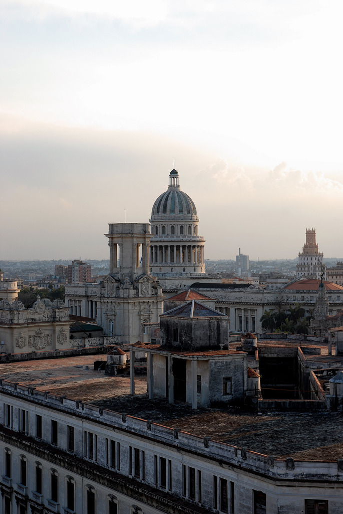 mer-de:  View of Havana from Bacardi building
