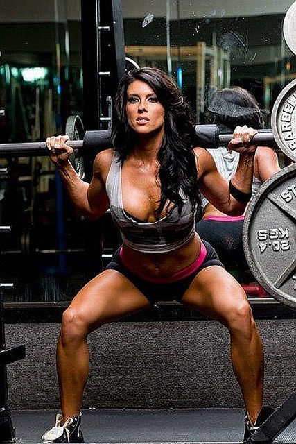 Amanda Latona - IFBB Bikini Pro  by sabrebiade on Flickr.