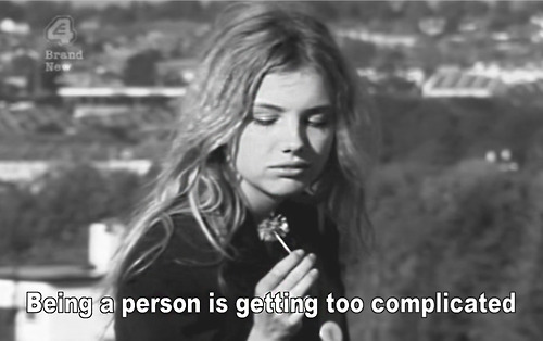 By Cassie Ainsworth (played by Hannah Murray, 2007-2008) from Skins