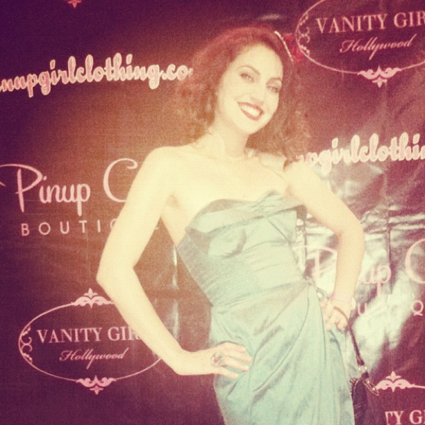 Pinup Girl Boutique Grand Opening (Taken with Instagram)