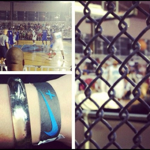 Ballin with @heatherstripe ad #teamnike #houseofhoops (Taken with Instagram)