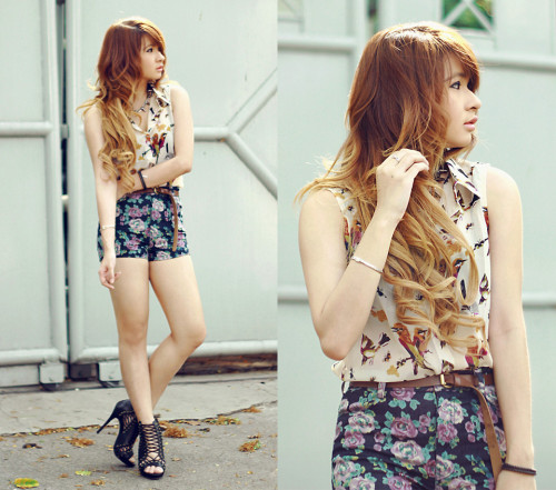lookbookdotnu:  Birds and florals (by Anastasia Siantar) This!
