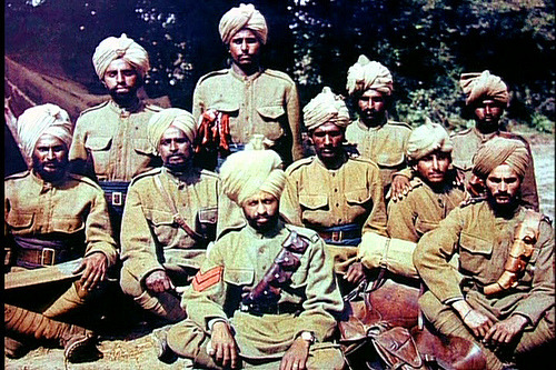 Colonial troops from India, Great War
