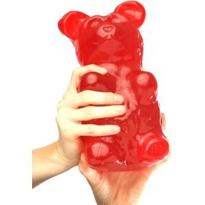 Giant Gummy Bear 5 Pounds - Cherry Flavored Giant Gummy Bear $25.95