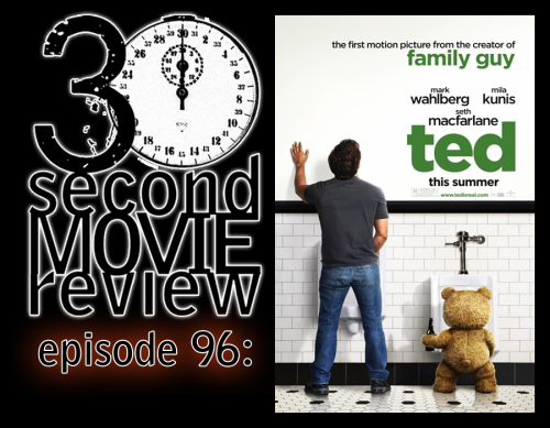 "Wonka's 30 Second Movie Review.  Episode 96: ""Ted"" (2012) with Special Guest!!!  http://www.keek.com/!FZAqaab"