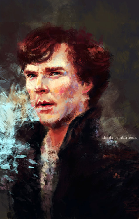 blackmorgan:  Birthday Benedict by ~ladyVimes