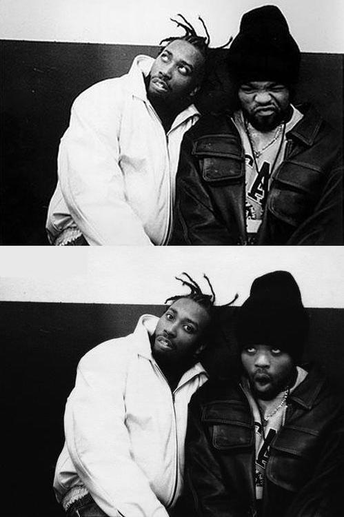 suhhperbb:  Ol' Dirty Bastard x Method Man