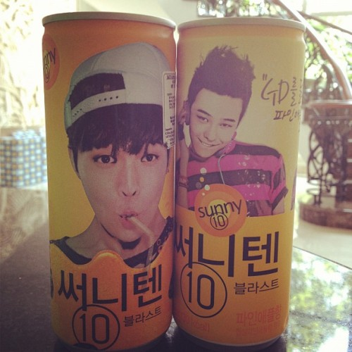 Oh forgot i still have these #sunny10 #gd #soda #drinks #korea (Taken with Instagram)