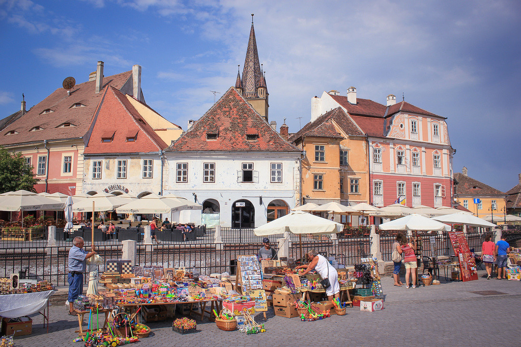 Sibiu, Romania (by Dominuz)