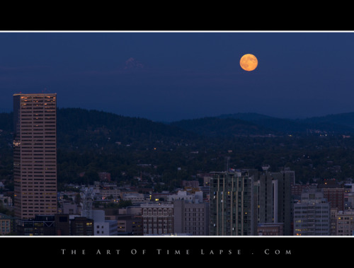 Another moon shot in Portland