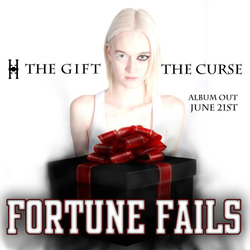 Fortune Fails The Gift The Curse Download from iTunes Album art photographed by Renée Van Kraanen at Southern Exposure Photography