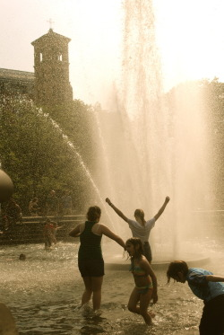 Bathers at Washington Square