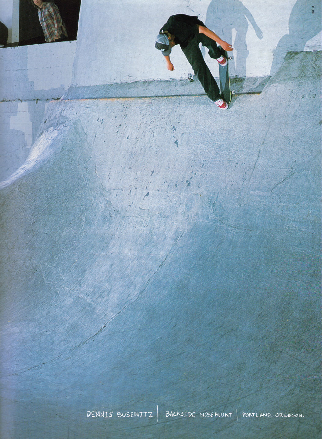 you-are-going-to-die:  Bs Noseblunt - Burnside