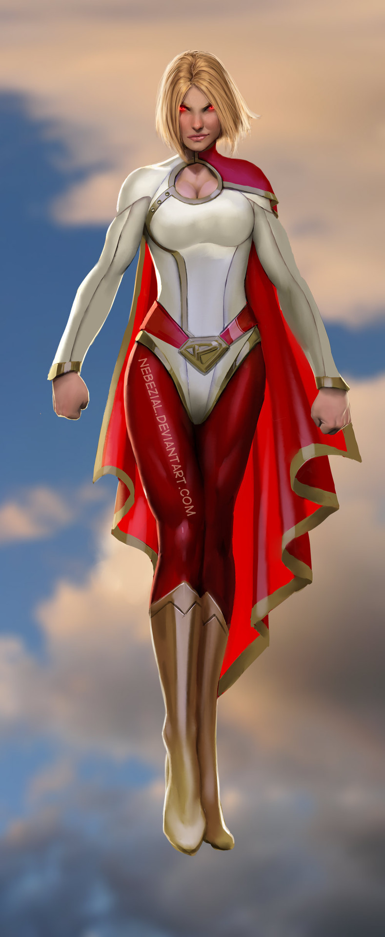 Just a Simple Power Girl by Stjepan Sejic
