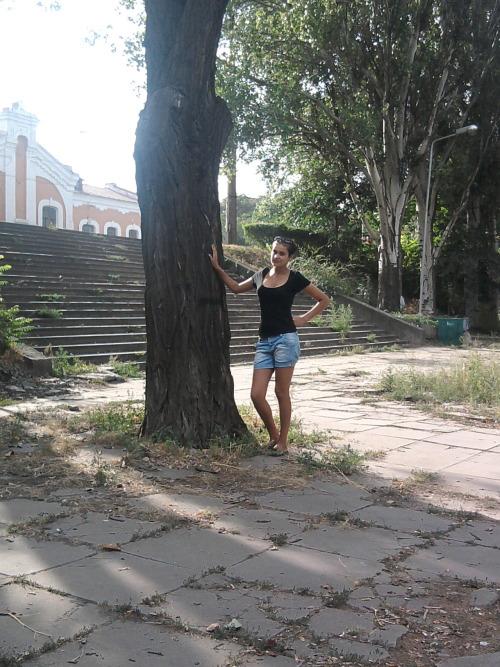 Ездила в Запорожье с Олей) Посидели немного в парке*_*