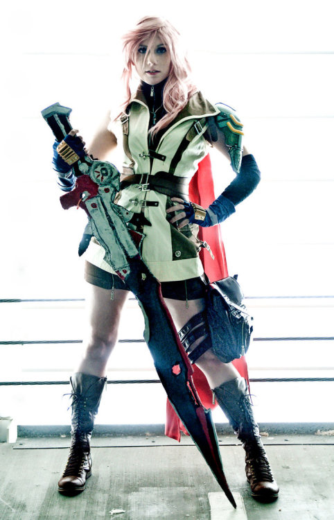 Lightning (a.k.a. Claire Farron) from Final Fantasy XIIICosplayer: ForeverAdelPhotographer: Abbie Warnock