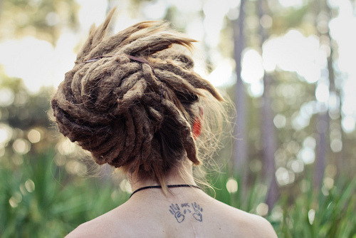 love-the-hipster:  dread locks are so cool!