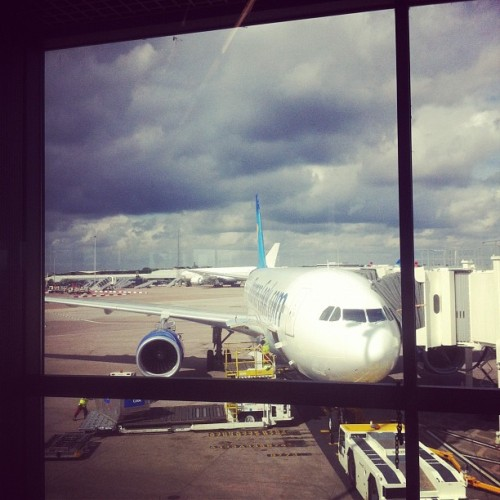 Mine and @jessvjohnson's plane :). (Taken with Instagram)