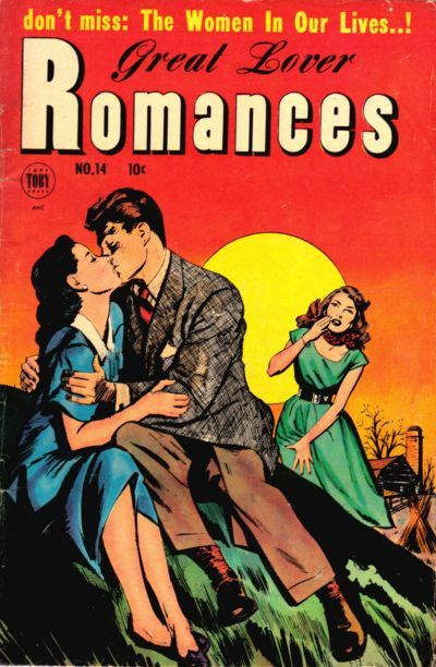romancecomics:   Great Lover Romances  #14
