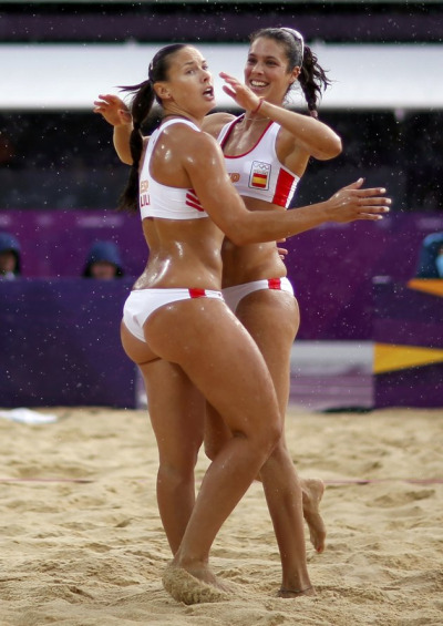 womenofallflavors:  Spain olympic vb team