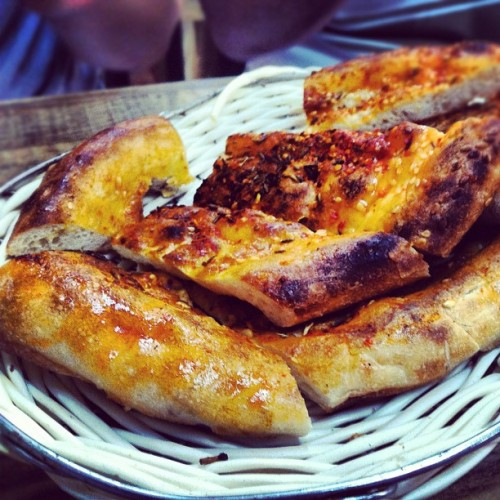 #xijiang roast naan #bread goes well with the lamb skewers. #food #foodie #foodporn. Follow me on #favspot to find out where my other recommended spots are in the world (Taken with Instagram at Adaxi Xinjiang Restaurant)