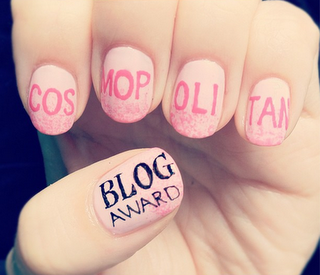 I can haz vote, plz? My nails and I have been shortlisted for a Cosmopolitan Blog Award! I'm in the Best Established Beauty Blogger category as Lyndar The Merciless, and you can click here to vote for me. Thanks, lovelies x