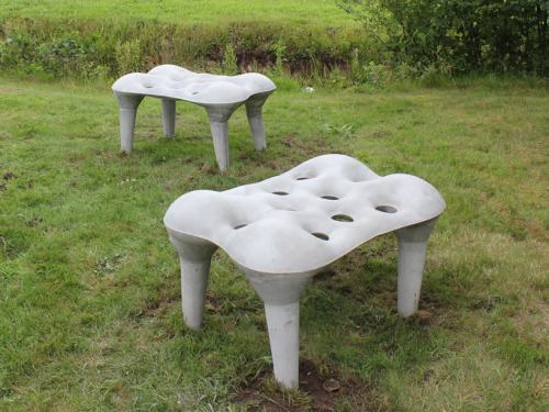 Concrete Bench by Tejo Remy and Rene Veenhuizen.