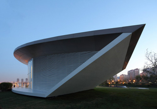 Wihai Pavilion by Make Architects.