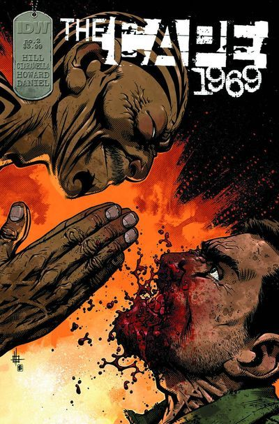 THIRD EYE PICKS OF THE WEEK: THE CAPE 1969 #2 — Joe Hill's THE CAPE was one of our favorite reads last year, with it's dark, twisted look at what happens when a down-on-his-luck underachiever gets superpowers.  Now, in 1969, we're seeing the origins of the dark artifact that turned a normal man into a chainsaw-flinging, civilian-dropping flying killer.  A must-read, Third Eye Faithful! Wanna get on board? We've got THE CAPE 1969 #1 in stock now, as well as the original CAPE hardcover to catch you up!