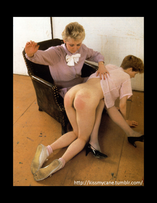 Strict aunt spank apologise, but