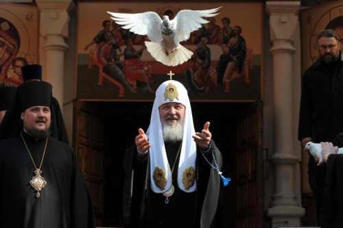 The Russian Orthodox Patriarch Фото: Кирилл Новотарский
