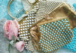 Vintage Handbags by such pretty things on Flickr.