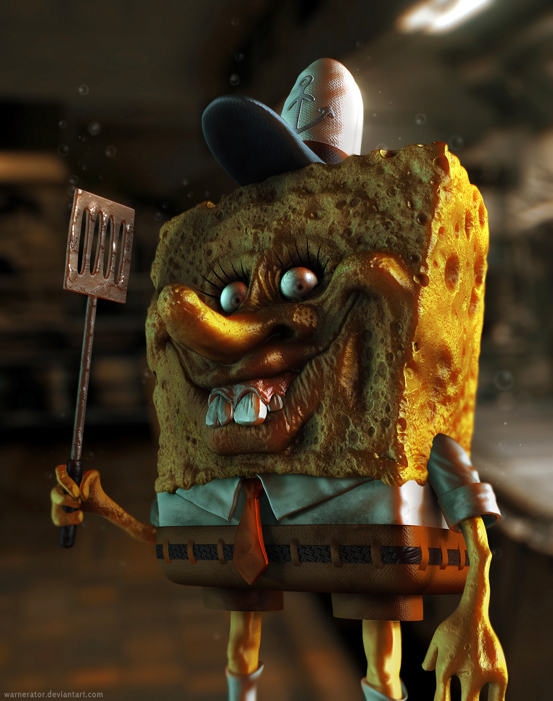 Spongebob Sparepants by ~Warnerator