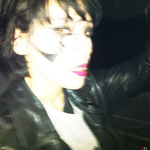 Nic Endo minutes after Atari Teenage Riot show at Off Festival on the way to afterparty  (Wurde mit Instagram aufgenommen)