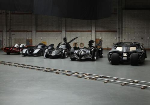 uniquecollectibles:  Batmobiles!