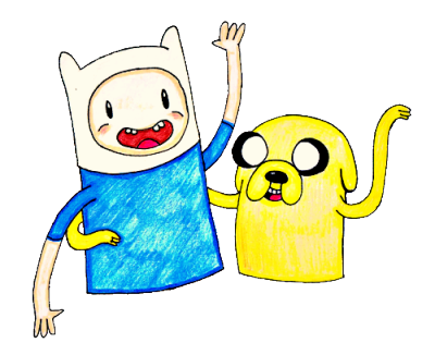 earthintheclouds:  Finn and Jake from Adventure Time as requested by leo-smith I finished it! Hope you like it. :)  cute! :)